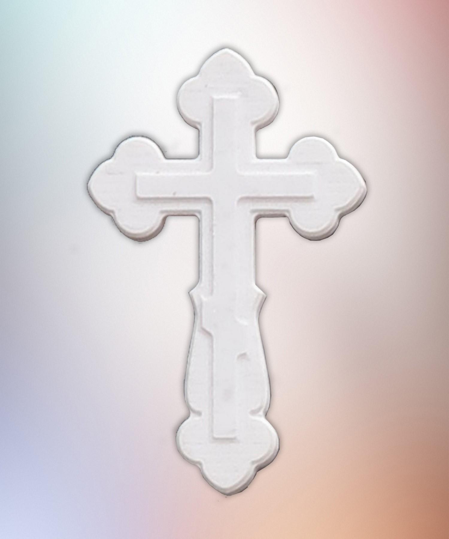Крест мрамор 3Д