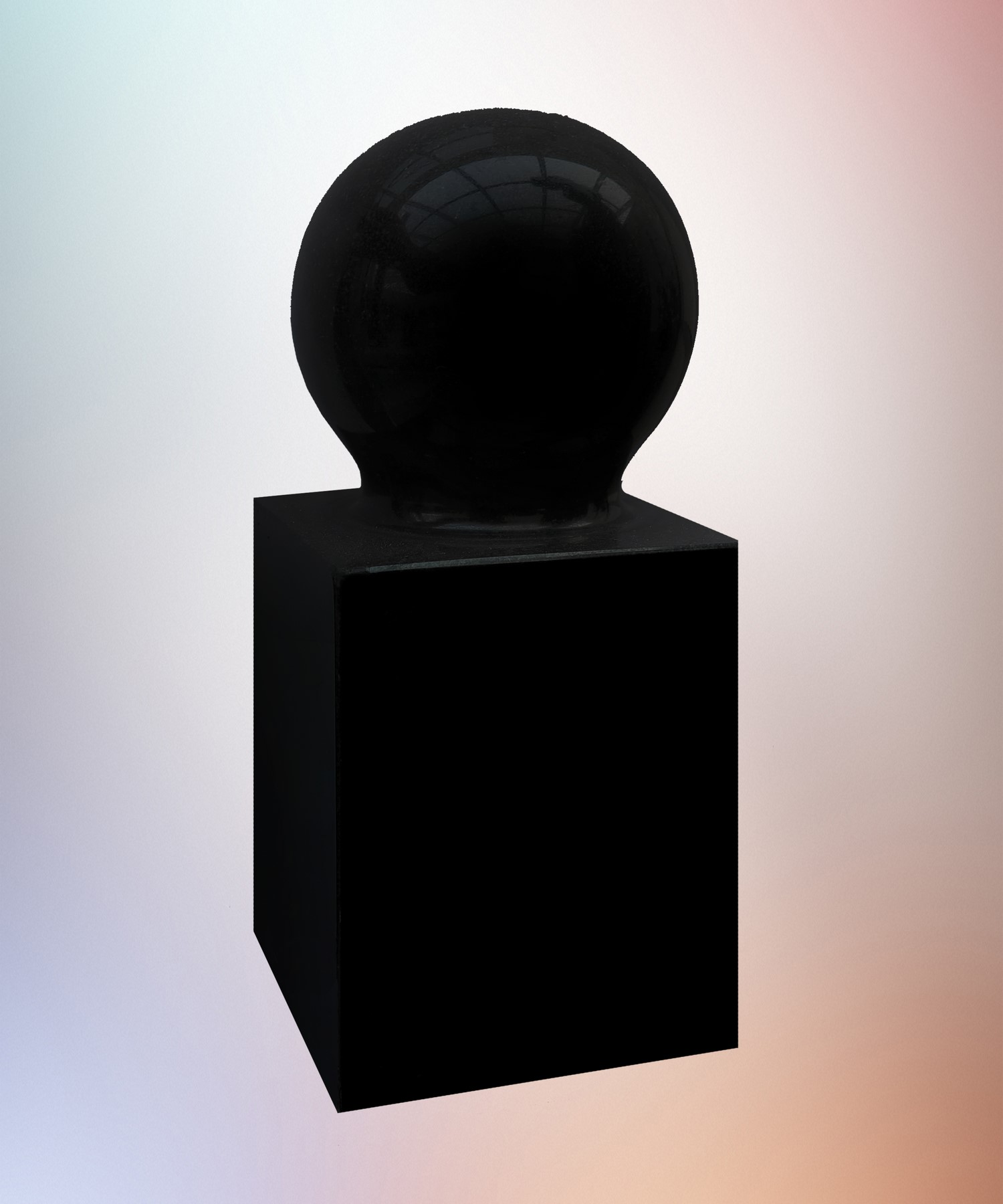 Кубик с шаром — С