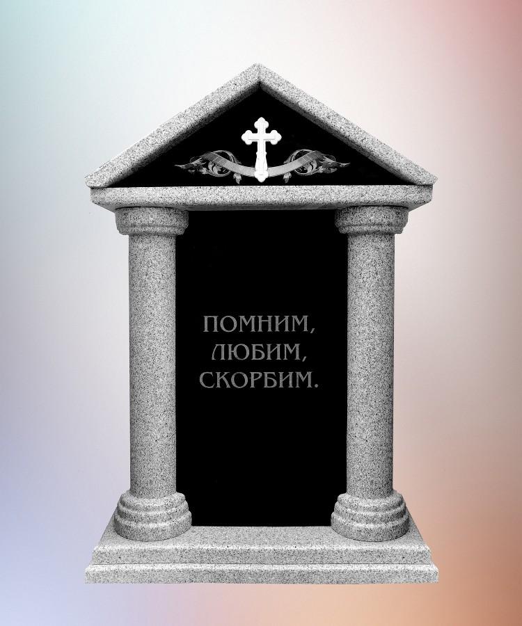 Модель ДОМИК С КОЛОННАМИ
