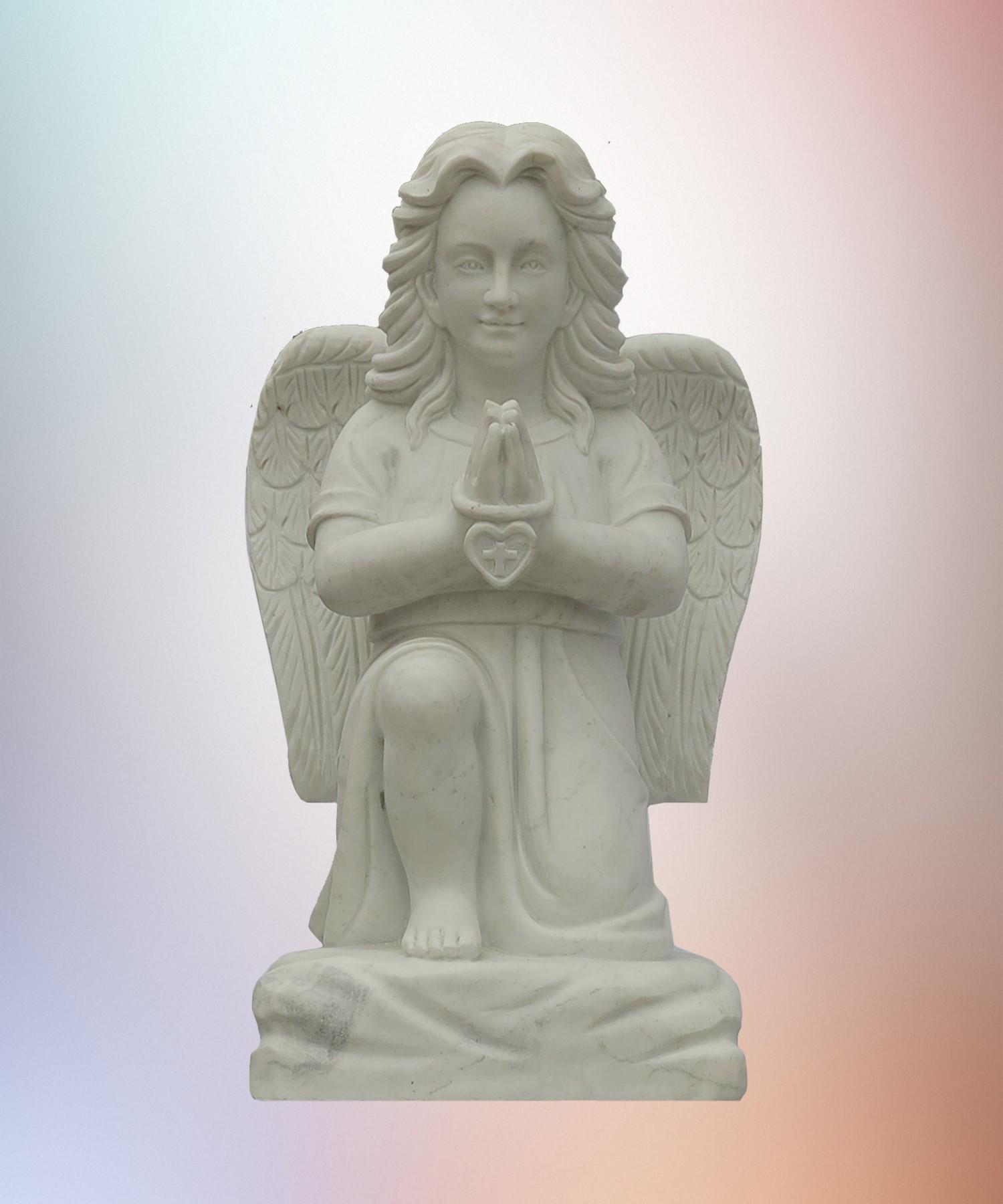 Ангел 15 мраморный