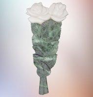 Цветы мрамор 4